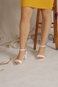 White Colored Pumps